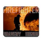 Firefighter Bravery/Honor Mousepad