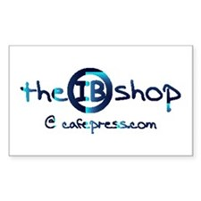 The IB Shop Rectangle Decal
