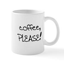 """The IB Shop """"Coffee, please!"""" Mug"""