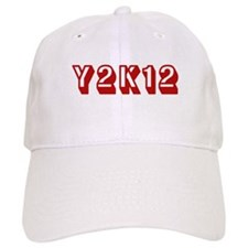Y2K12 Red Baseball Cap