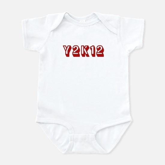Y2K12 Red Infant Bodysuit
