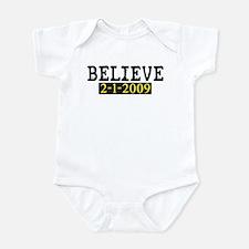Believe (Steelers) Infant Bodysuit