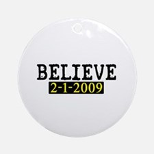 Believe (Steelers) Ornament (Round)