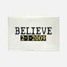 Believe (Steelers) Rectangle Magnet