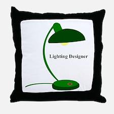 Lighting Designer 2 Throw Pillow