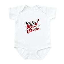 Piano Keys Ring Bearer Infant Bodysuit