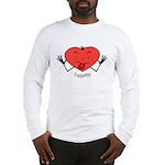 Valentine's Day Thpppttt! Long Sleeve T-Shirt