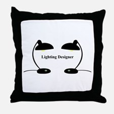 Lighting Designer 3 Throw Pillow