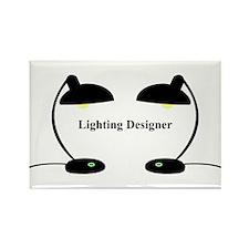 Lighting Designer 3 Rectangle Magnet