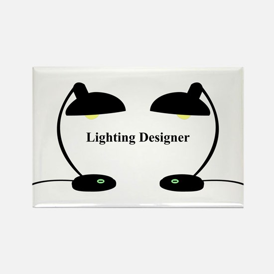 Lighting Designer 3 Rectangle Magnet
