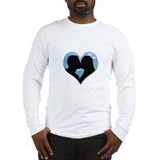 Cute Coup kisses Long Sleeve T-Shirt