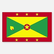 Grenada Rectangle Decal