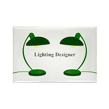 Lighting Designer 4 Rectangle Magnet