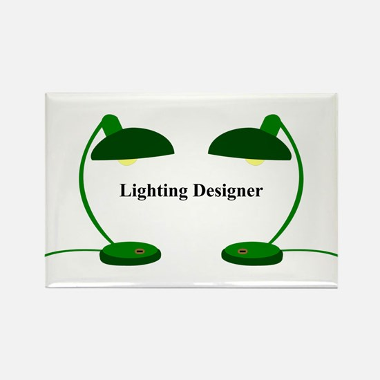 Lighting Designer 4 Rectangle Magnet