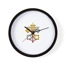 Cute Vatican Wall Clock
