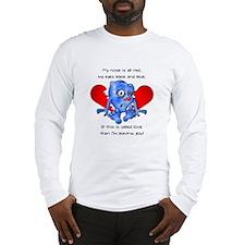 """""""Beaten Heart"""" Long Sleeve T-Shirt"""