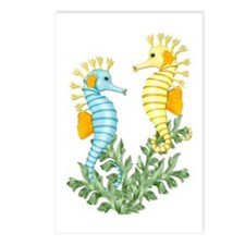 Seahorse Fantasy Postcards (Package of 8)