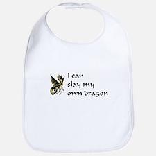 can slay my own dragon Bib