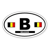 Belgium Bumper Stickers