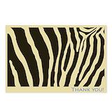 Postcards zebra Stationery