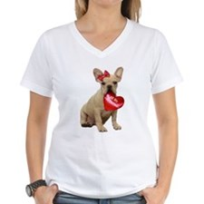 Be my Valentine French Bulldo Shirt