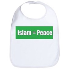 Islam means Peace Bib