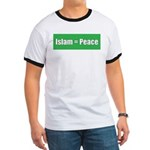 Islam means Peace Ringer T