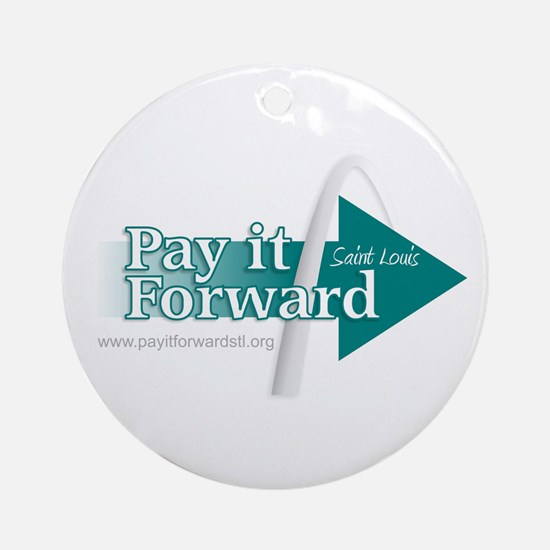 Pay it Forward Ornament (Round)
