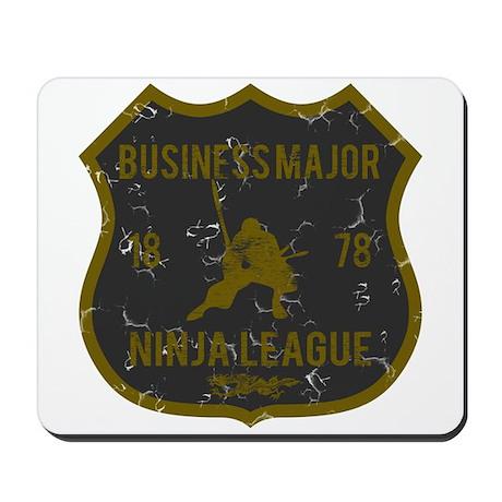 Business Major Ninja League Mousepad