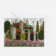 Ahwahnee Hotel, Yosemite Greeting Cards (Pk of 10)