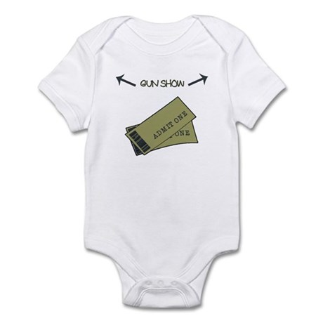 Tickets to the Gun Show Infant Bodysuit