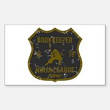 Bookkeeper Ninja League Rectangle Decal