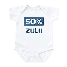 50 Percent Zulu Infant Bodysuit