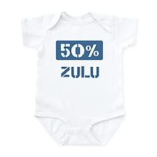 50 Percent Zulu Onesie