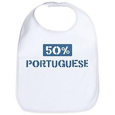 50 Percent Portuguese Bib