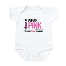 I Wear Pink Warrior Infant Bodysuit
