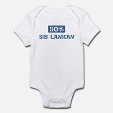 50 Percent Sri Lankan Infant Bodysuit