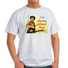 Playing Johnny West Ash Grey T-Shirt