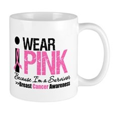 I Wear Pink Survivor Mug