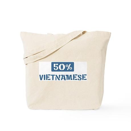 50 Percent Vietnamese Tote Bag