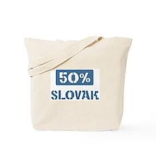 50 Percent Slovak Tote Bag
