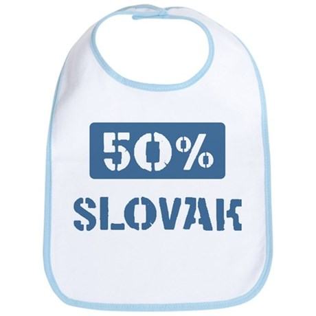 50 Percent Slovak Bib