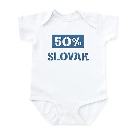 50 Percent Slovak Infant Bodysuit