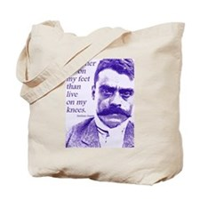 Emiliano Zapata Mexican Revolution Leader Tote Bag