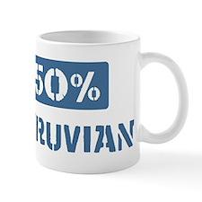 50 Percent Peruvian Mug