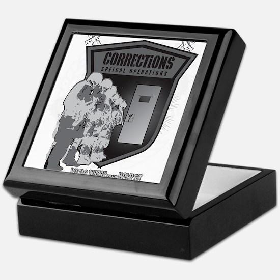 Corrections Special Operation Keepsake Box