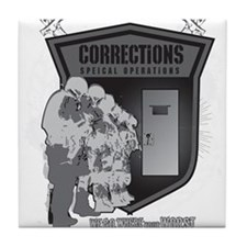 Corrections Special Operation Tile Coaster