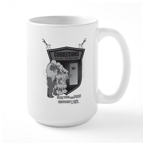 Corrections Special Operation Large Mug