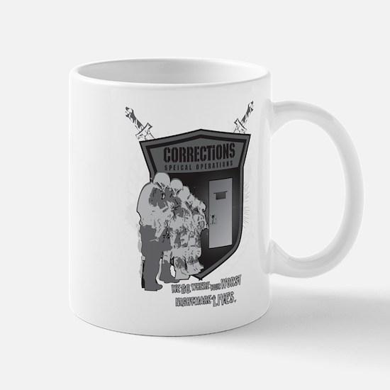 Corrections Special Operation Mug