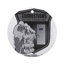 Corrections Special Operation Ornament (Round)